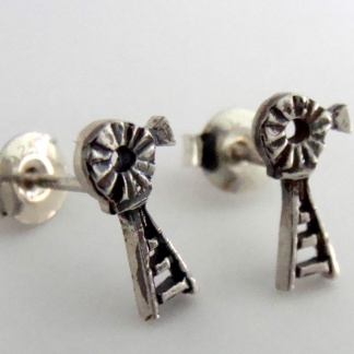 Sterling Silver small windpump earrings