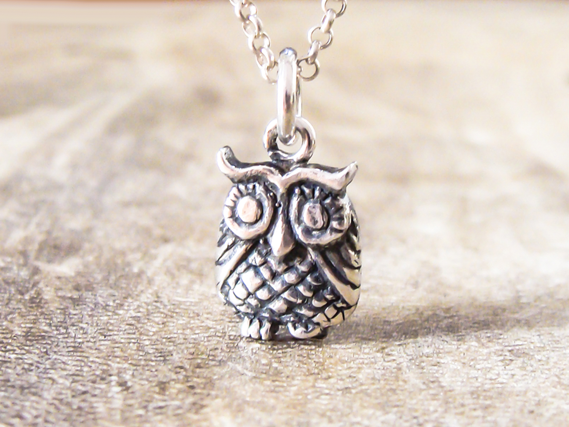 candy close jewel owl jeweled products necklace up pendant