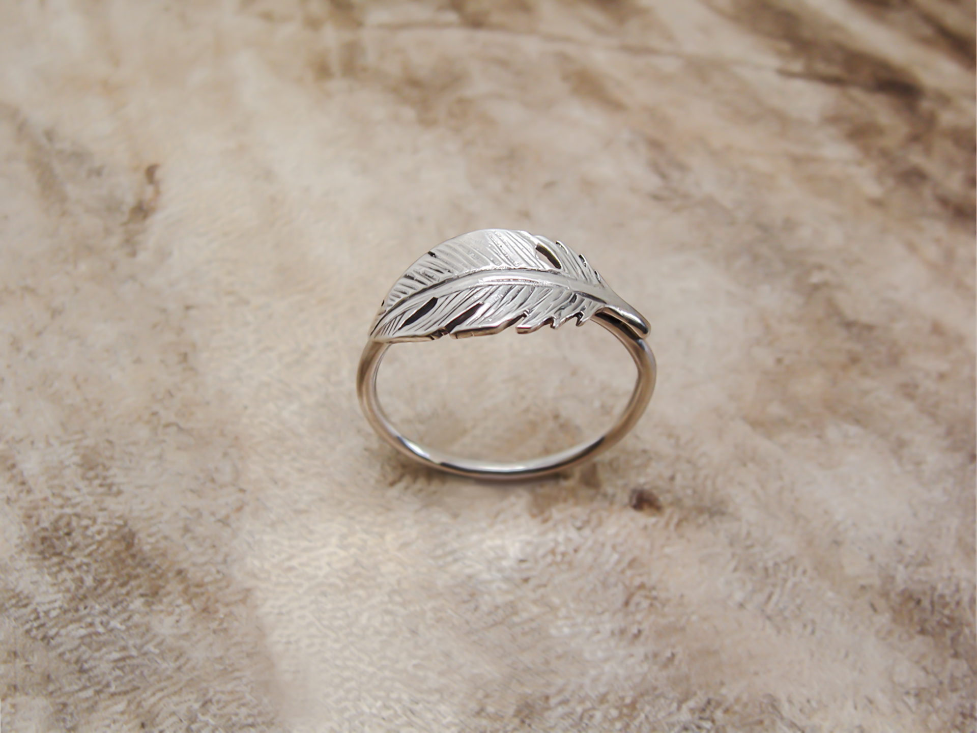 product rings rose engagement in modern gold ring feather