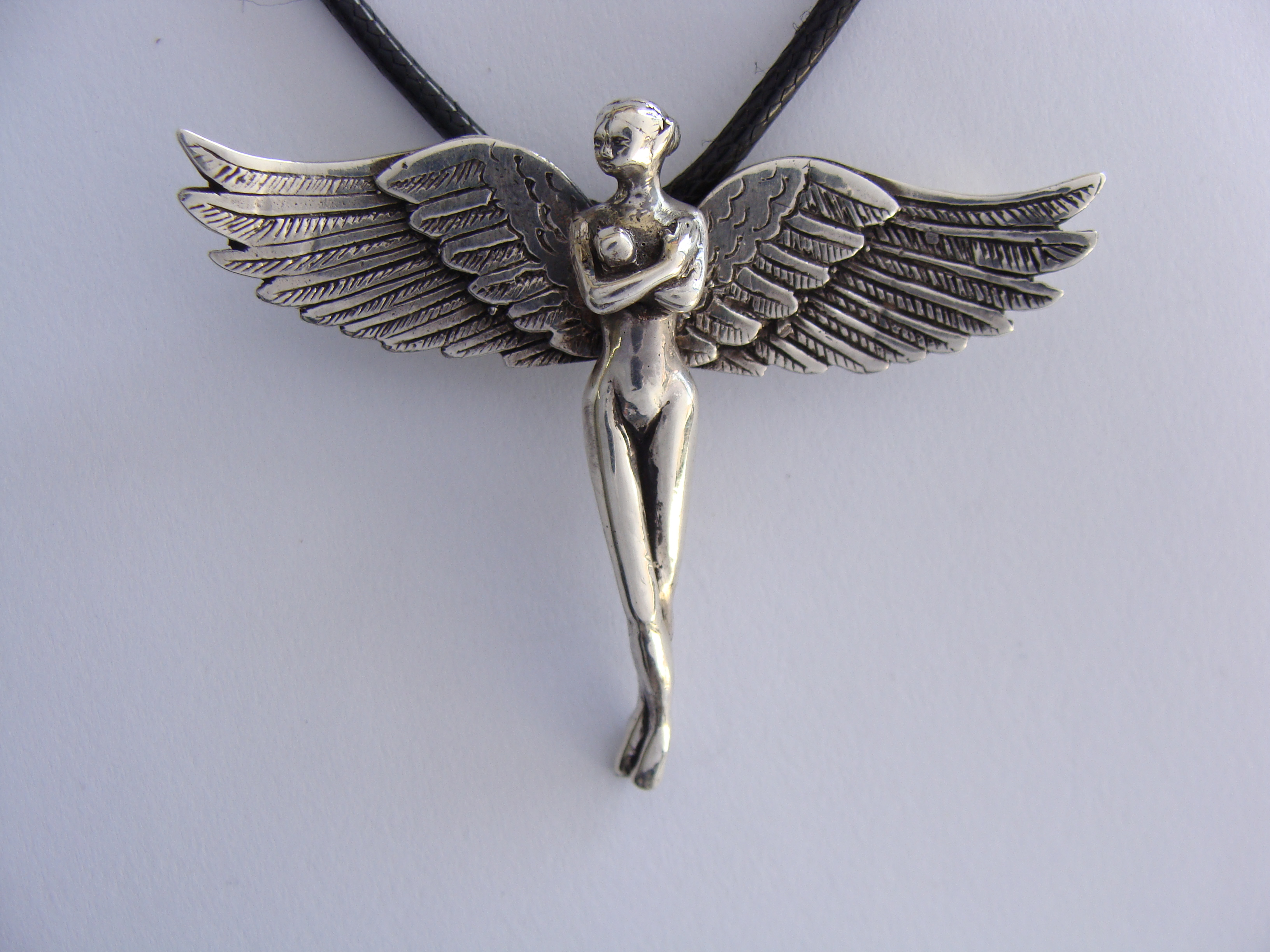 at alex necklace flying silver lewis john pendant bird swallow monroe