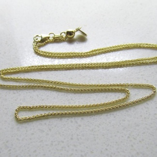 9ct Yellow Gold Chains and Bracelets