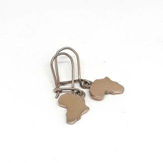 9ct Yellow Gold Small Africa Hooks Earrings - Goldfish Jewellery Design Studio