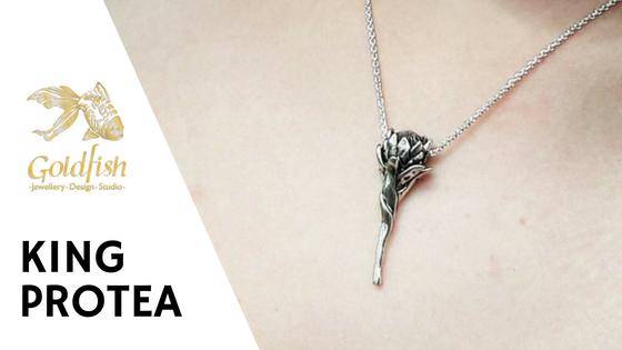 Goldfish Jewellery Design Studio - Jewellery Collections - King Protea Jewellery