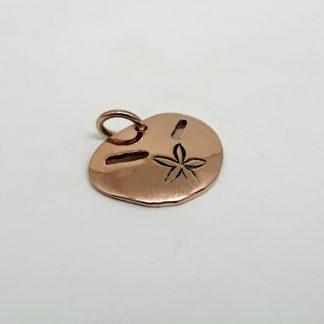 9ct Rose Gold Pansy Shell Charm (medium) - Goldfish Jewellery Design Studio