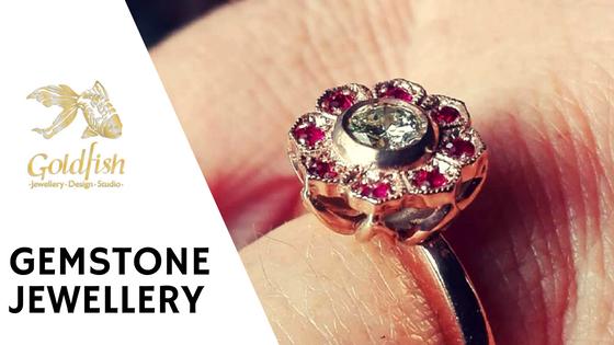 Gemstone Jewellery - Goldfish Jewellery Design Studio