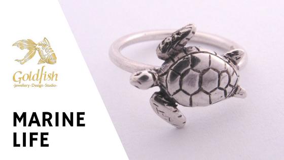 Marine Life Jewellery Collection - Goldfish Jewellery Design Studio