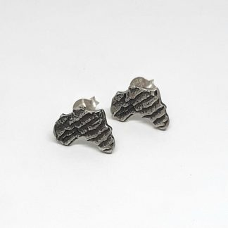 Sterling Silver Cuttlefish Africa Earrings