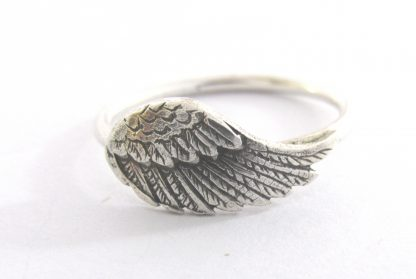 Sterling Silver Bird Wing Stack Ring