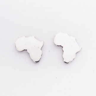 Sterling Silver Africa Earrings - Goldfish Jewellery Design Studio