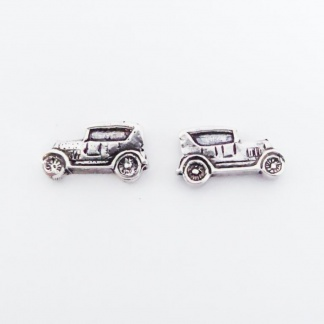 Sterling Silver Ford Car Earrings