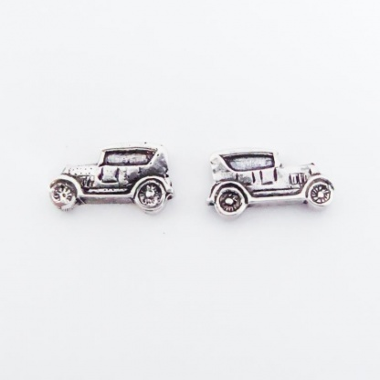 Sterling Silver Ford Car Earrings