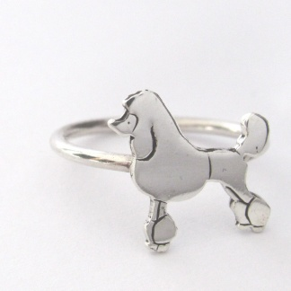 Goldfish Jewellery Design Studio - Sterling Silver Poodle Stack Ring