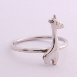 Sterling Silver Giraffe Stack Ring - Goldfish Jewellery Design Studio