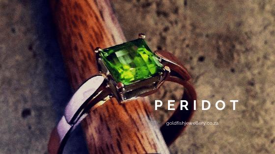 peridot - goldfish jewellery design studio