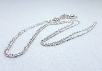 Sterling Silver Forzatina Slider Adjuster Chain - Goldfish Jewellery Design Studio
