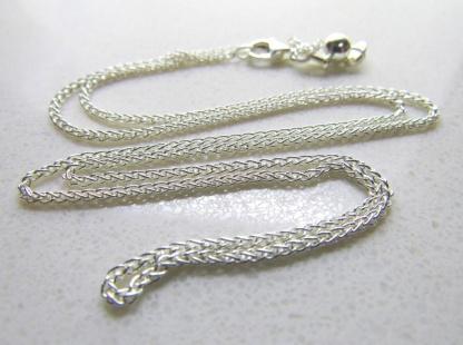 50cm Sterling Silver Slider Adjuster Chain 60cm - Goldfish Jewellery Design Studio