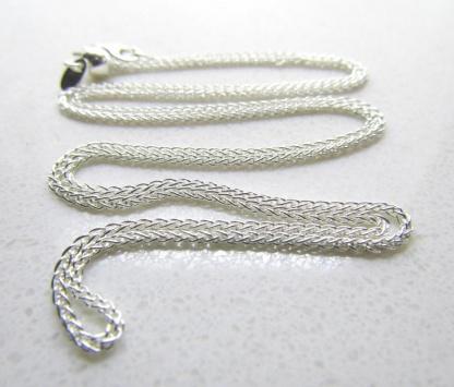 60cm Sterling Silver Slider Adjuster Chain 60cm - Goldfish Jewellery Design Studio