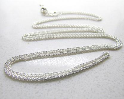 80cm Sterling Silver Slider Adjuster Chain 60cm - Goldfish Jewellery Design Studio