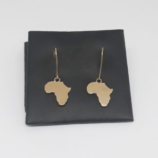 9ct Yellow Gold Medium Africa Hooks Earrings - Goldfish Jewellery Design Studio