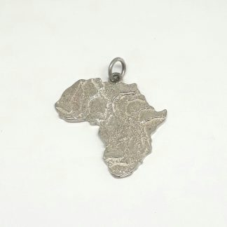 Sterling Silver Large Cuttlefish Africa Pendant - Goldfish Jewellery Design Studio