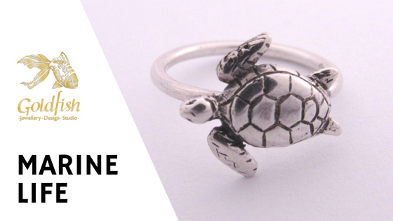 Marine Life Jewellery Collection - Goldfish Jewellery Design Studio