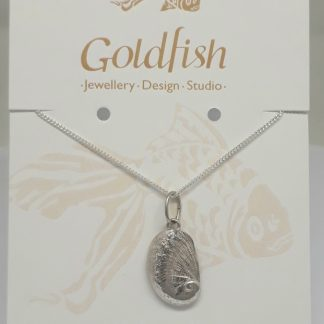 Sterling Silver Venus Ear Charm on Chain - Goldfish Jewellery Design Studio