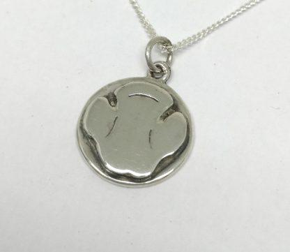 Sterling Silver Rhino Paw Charm - Goldfish Jewellery Design Studio