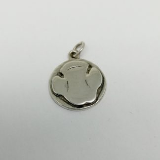 Sterling Silver Rhino Paw Charm - Goldfish Jewellery Design Studio