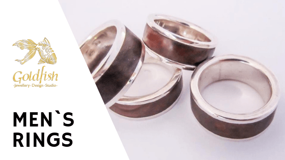 Men`s Rings Jewellery Collection - Goldfish Jewellery Design Studio