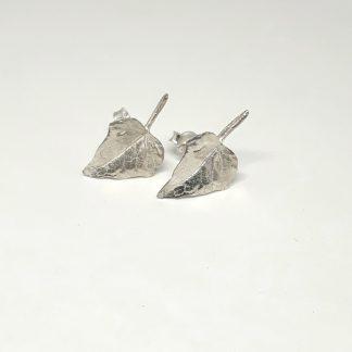 Sterling Silver Ivy Earrings (studs) - Goldfish Jewellery Design Studio