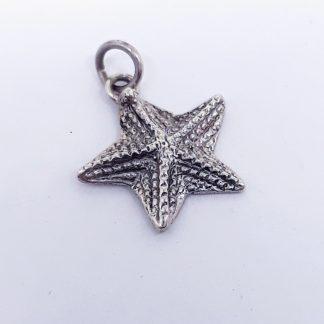 Sterling Silver Starfish Charm - Goldfish Jewellery Design Studio