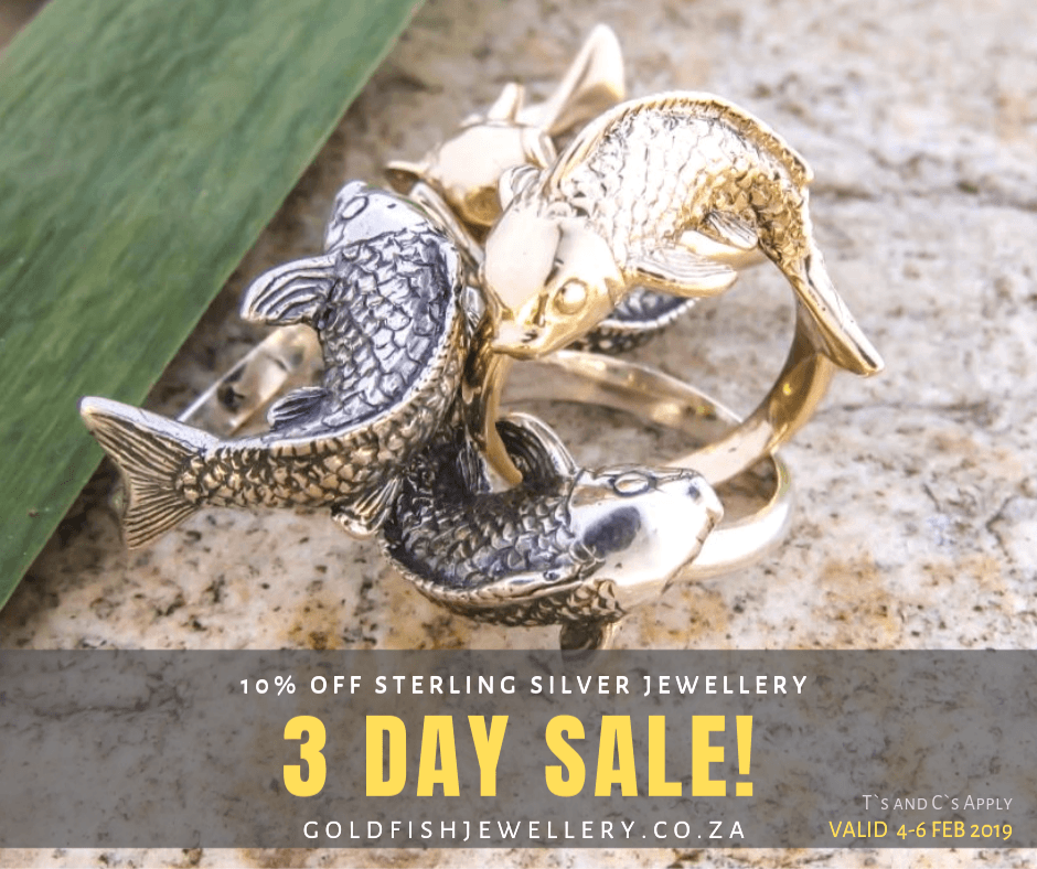 3 day sale - goldfishjewellery.co.za