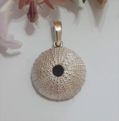 Sterling Silver Sea Urchin Pendant