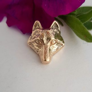 9ct Yellow Gold Fox