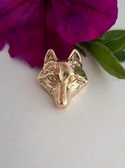 9ct Yellow Gold Fox